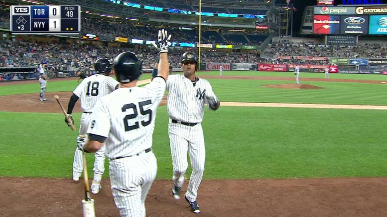 Sweep of Jays helps Yanks in playoff hunt