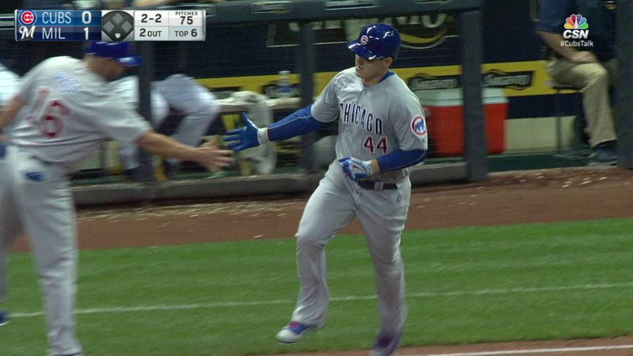 Cubs nipped by Crew, but close on clinch