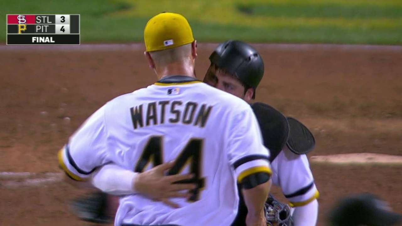 Watson earns 11th save