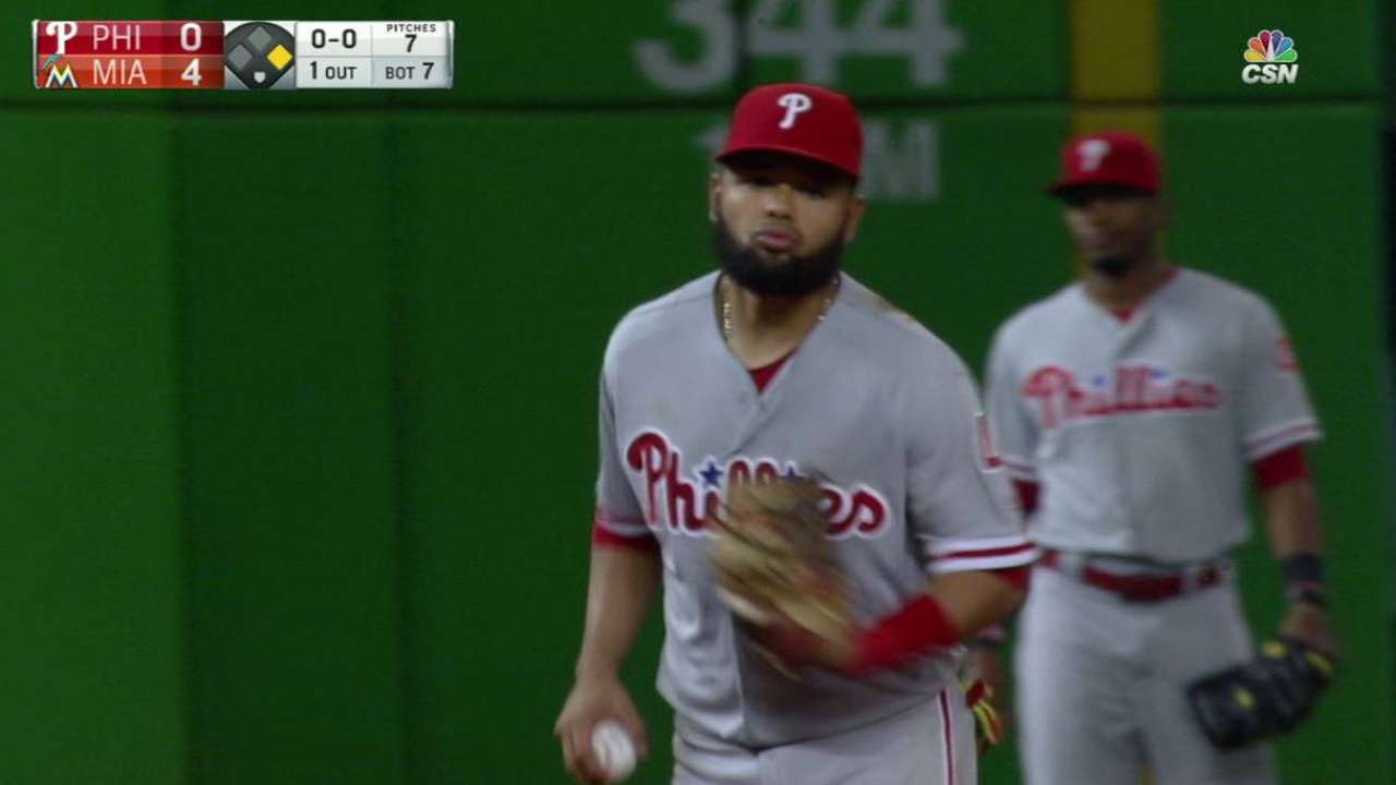 Schuster's Phillies debut