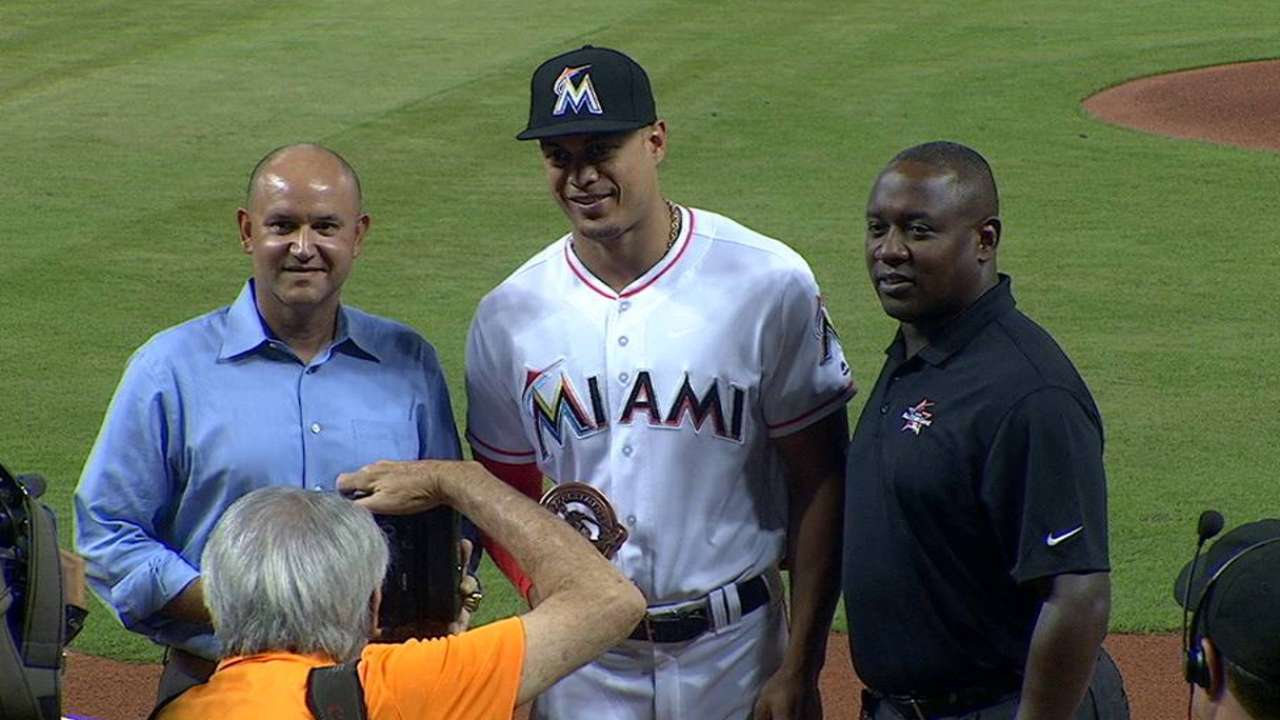 Stanton making a difference off the field, too