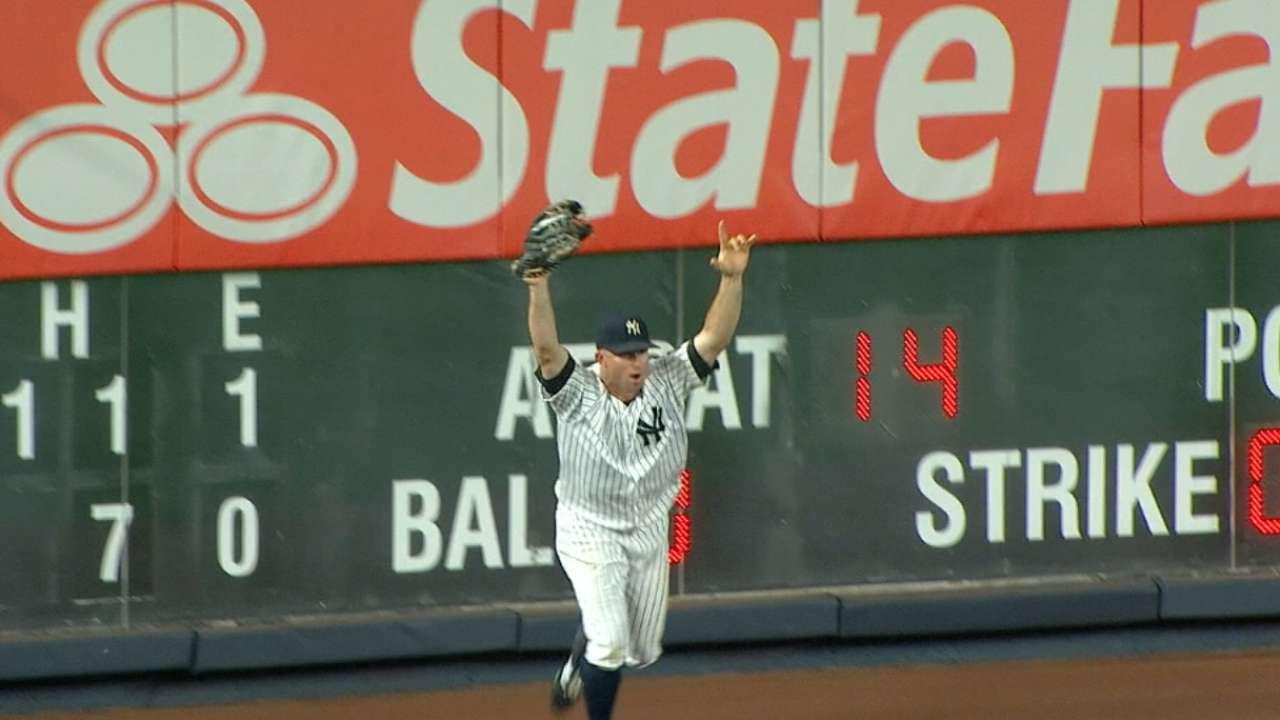 Yankees sweep the Blue Jays
