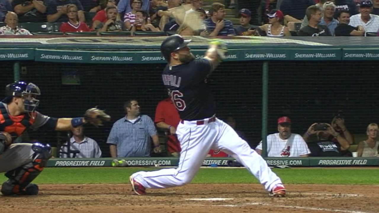 Indians face contending Astros on MLB.TV