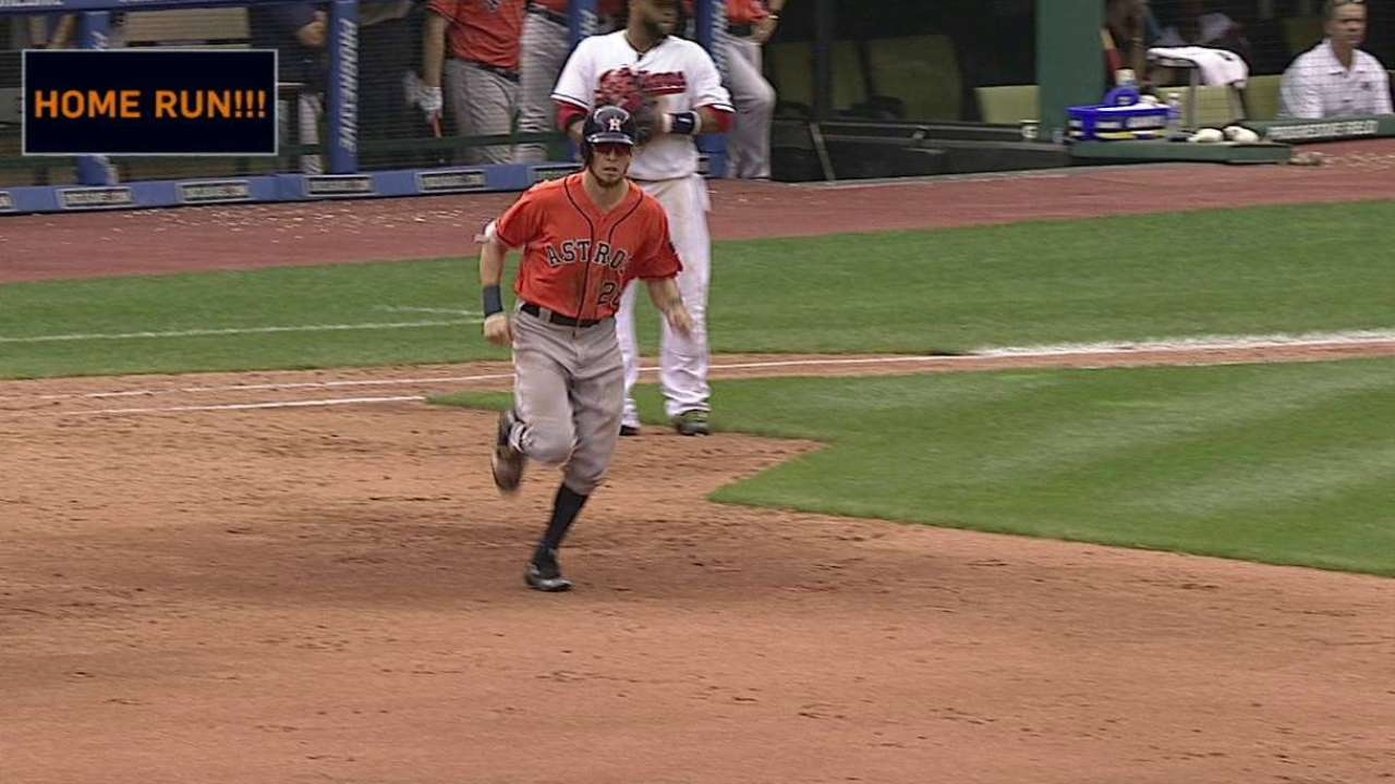 Rasmus' two-run jack in the 6th