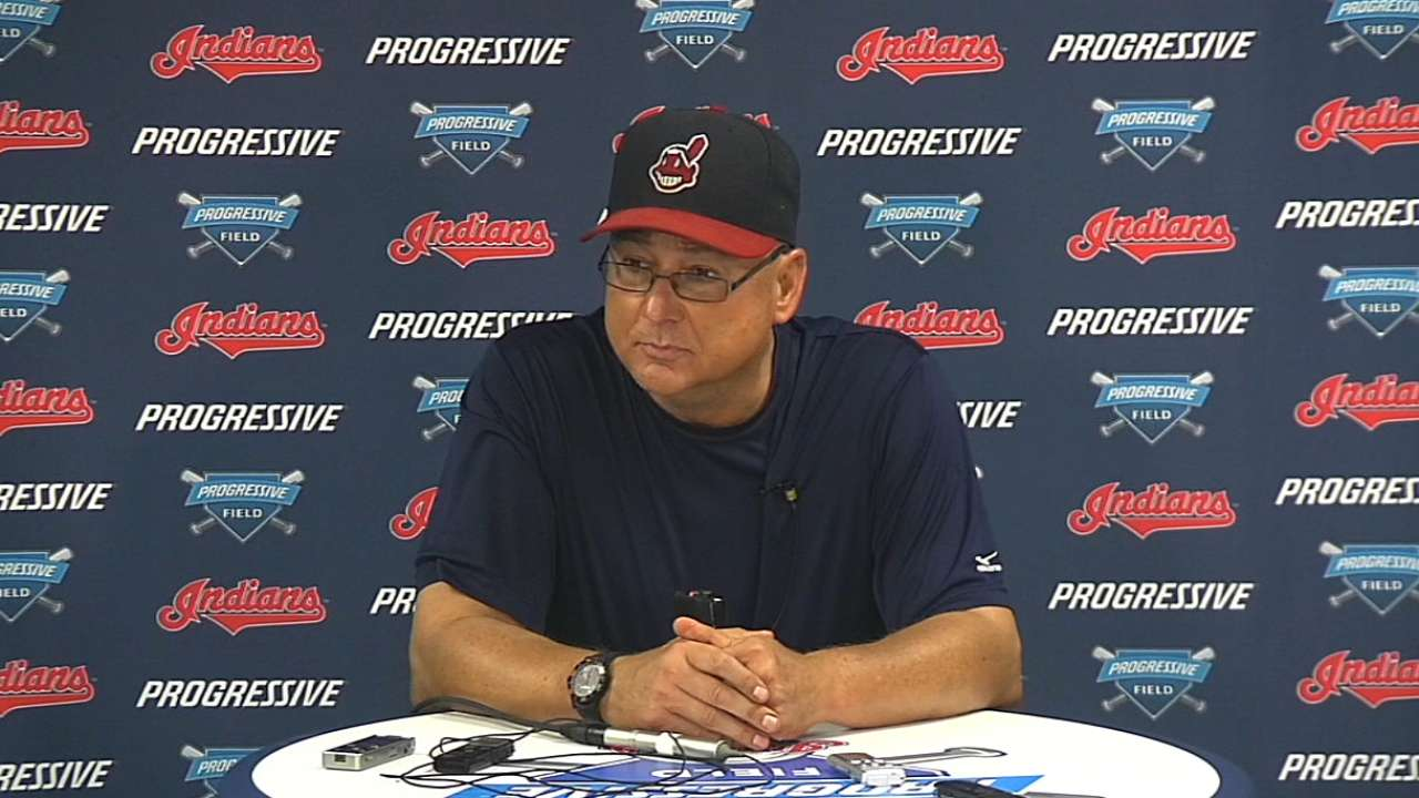 Francona on 10-7 win over Astros