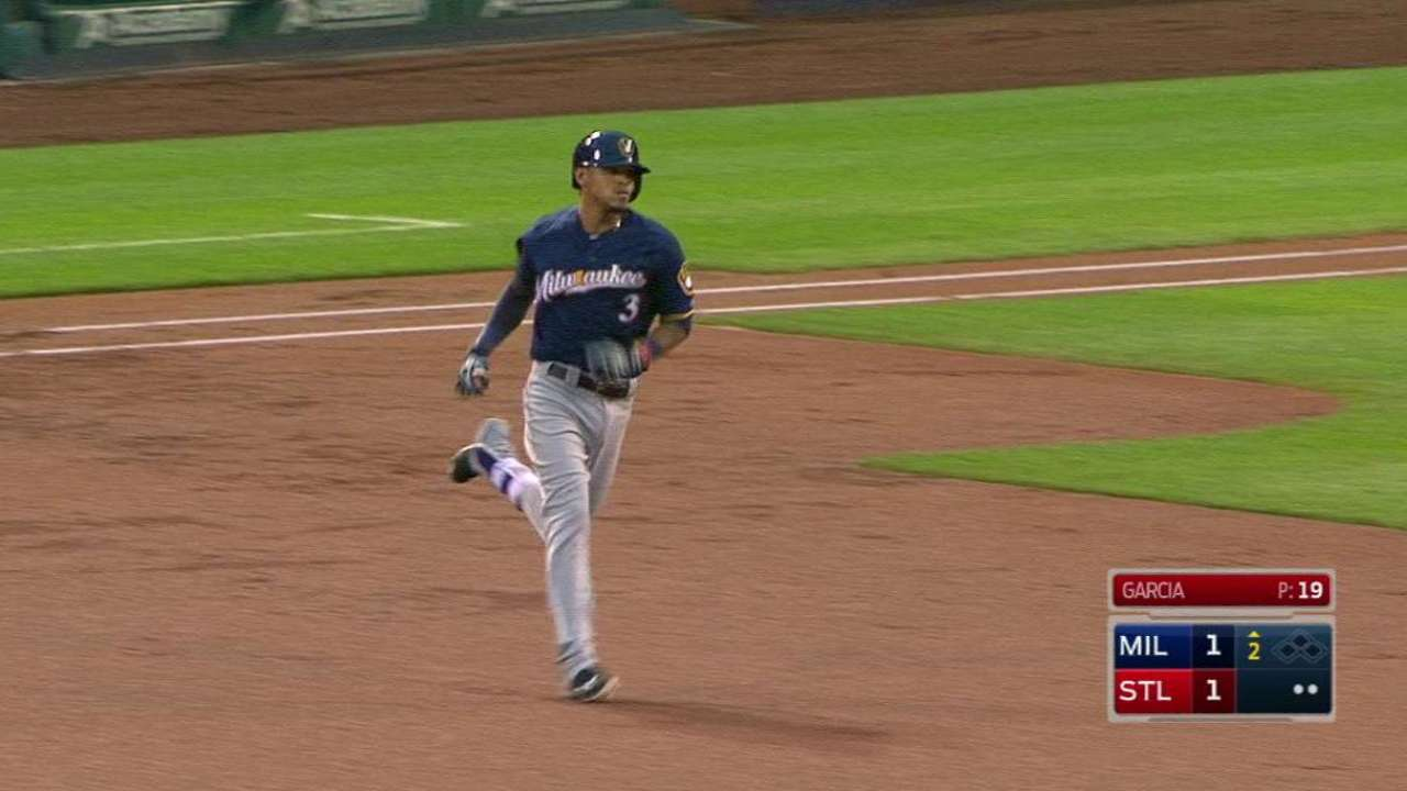 Arcia coming on strong for Brewers