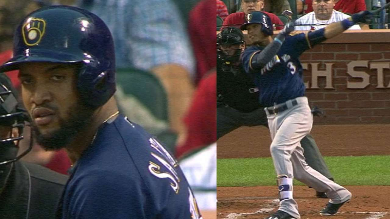 Santana, Arcia go back-to-back