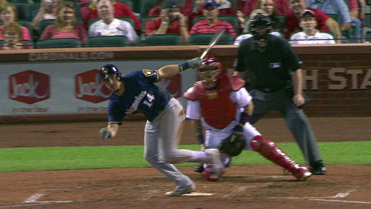 Brewers rout Cards, shake up playoff picture