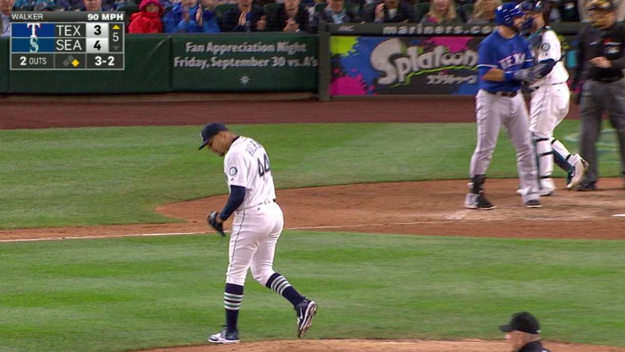 Mariners 'really happy' with Walker's rebound