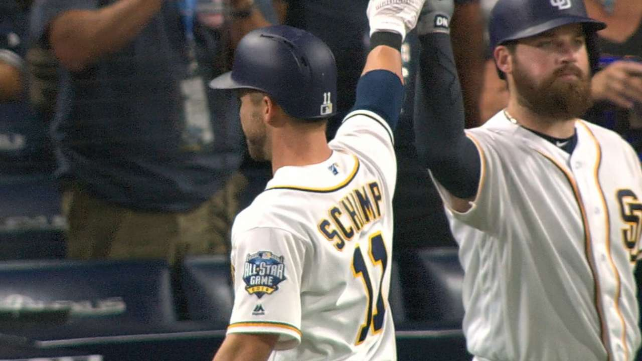With 7-run 3rd, Padres thump Rockies