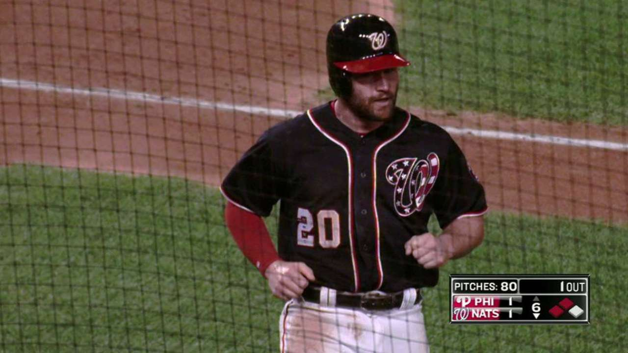 Harper's RBI single