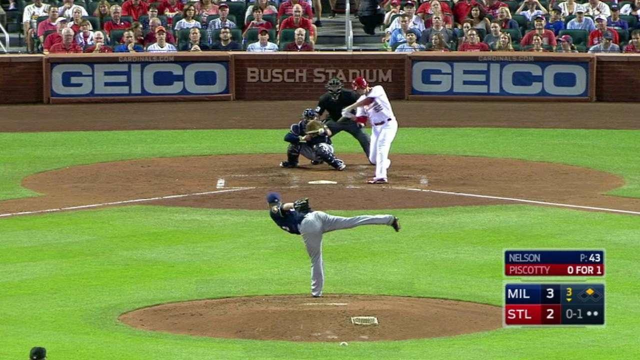 Piscotty's two-run home run