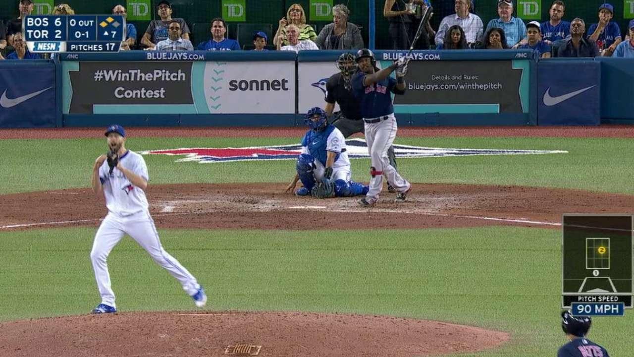 Hanley's three-run homer