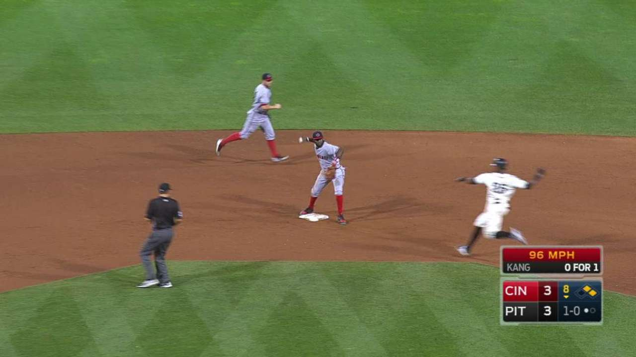 Reds turn two in the 8th