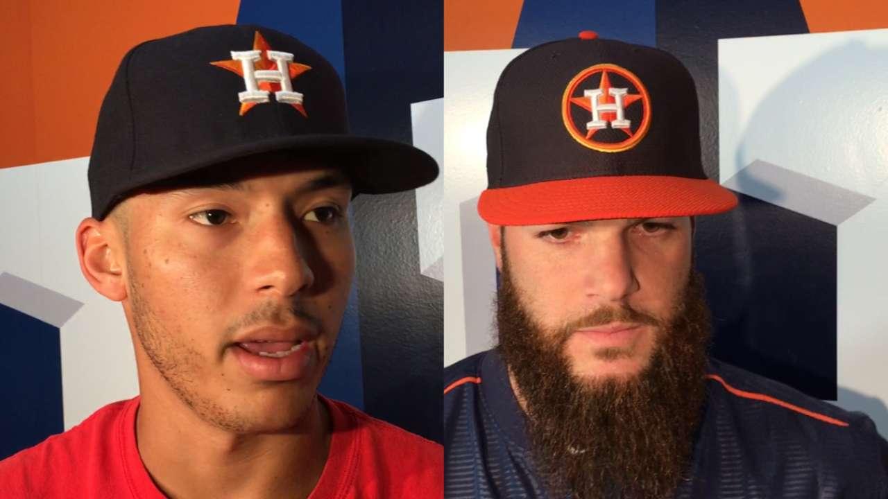 Correa may return vs. Cubs; Keuchel unclear