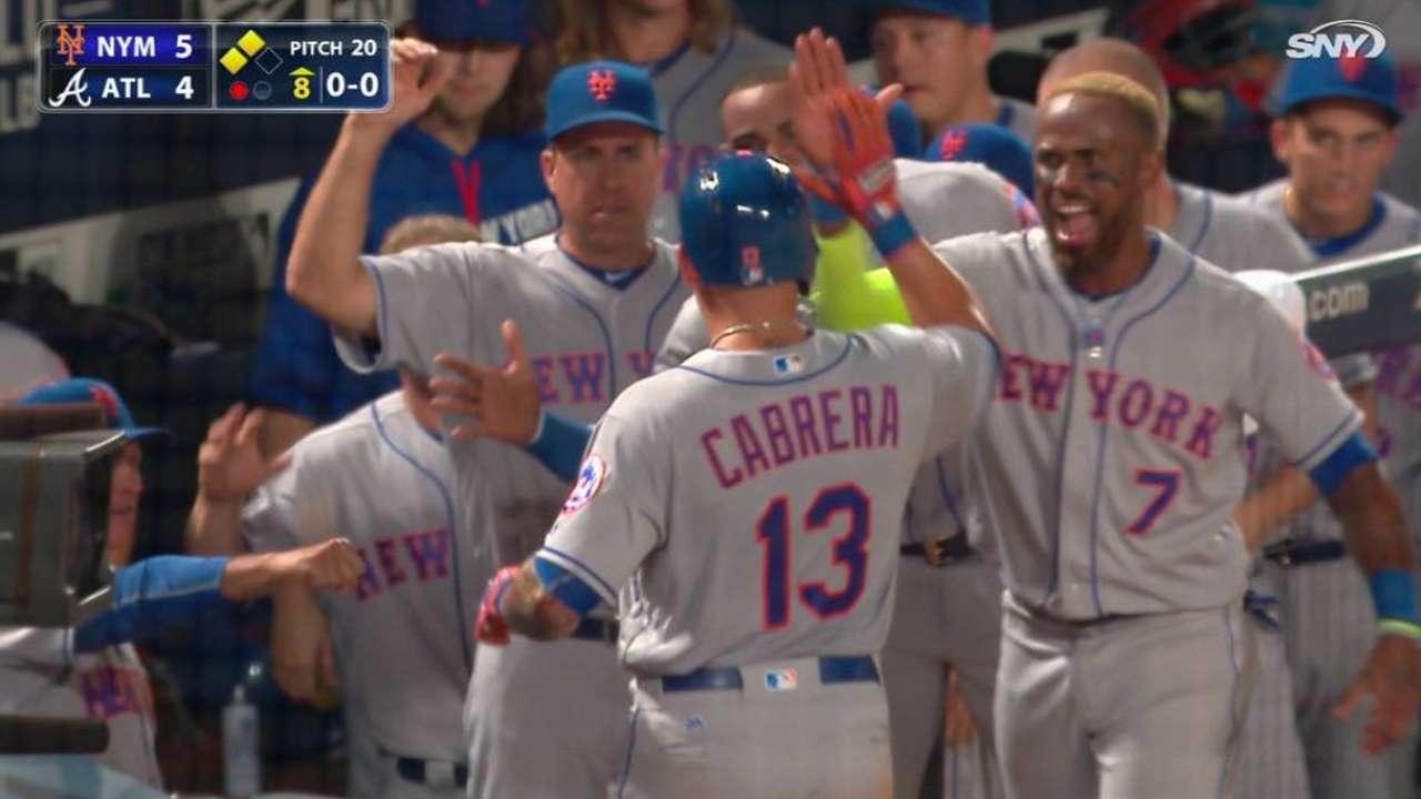 Johnson corona remontada de Mets ante los Bravos