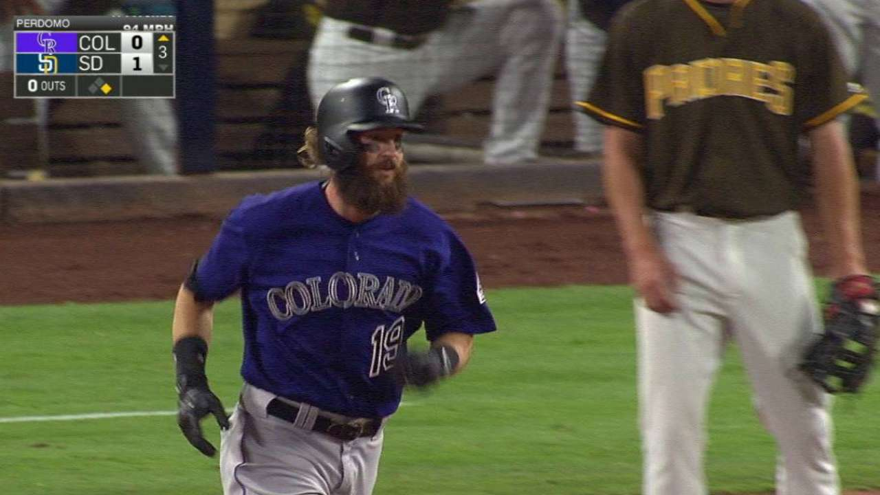 Blackmon, Chatwood ignite Rox offense