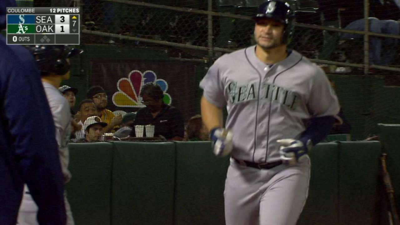 Zunino, Aoki get in on Mariners' power party
