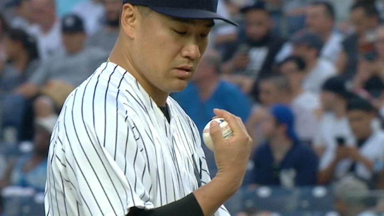 Tanaka bringing 'A' game to help Yanks roll