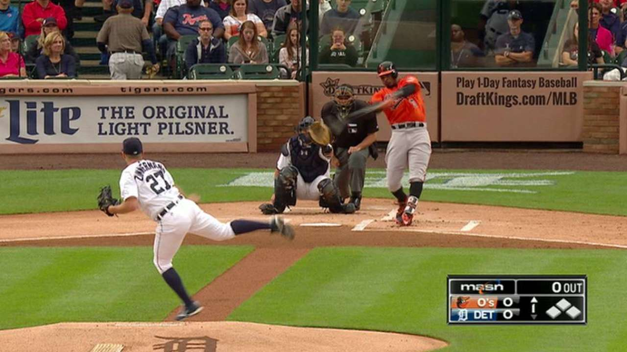 O's get to Zimmermann from get-go, thanks to Jones