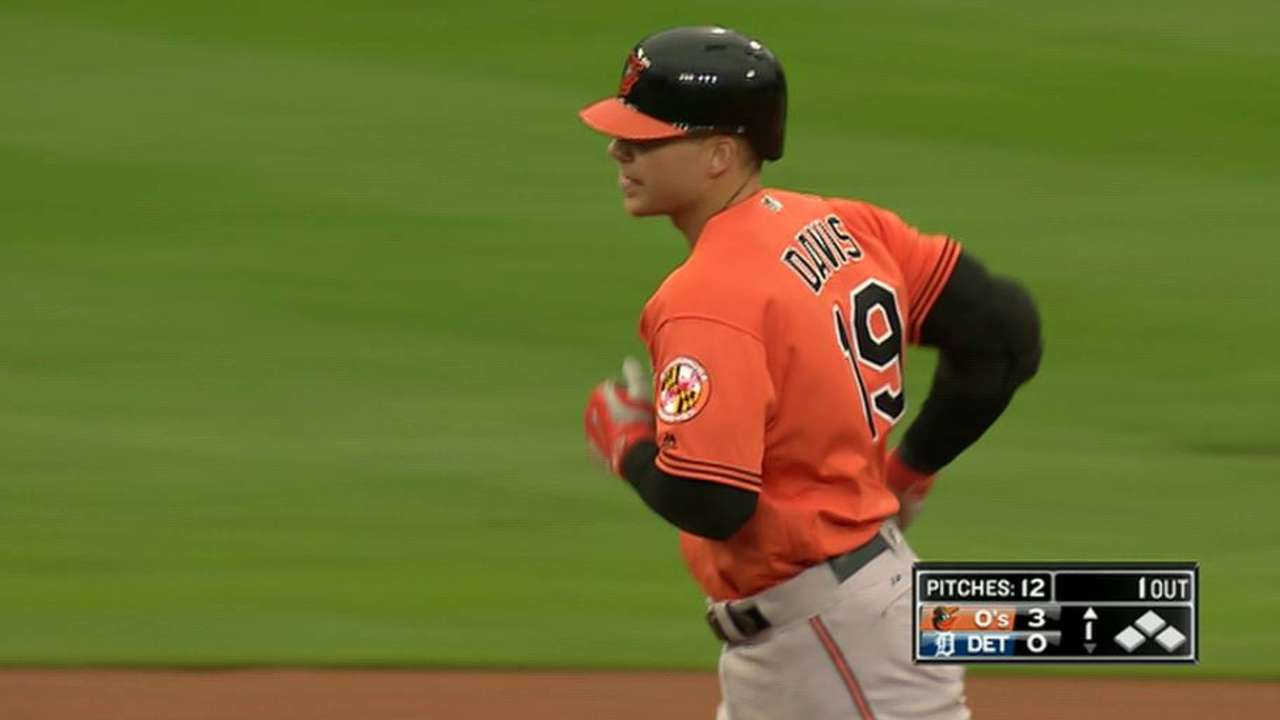 O's Davis: Too much at stake to rest ailing hand