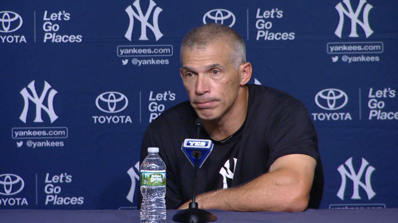 Girardi on Yankees' victory