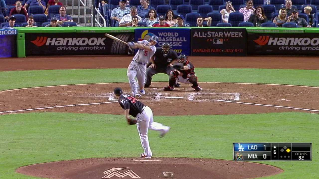 Seager's two-run home run