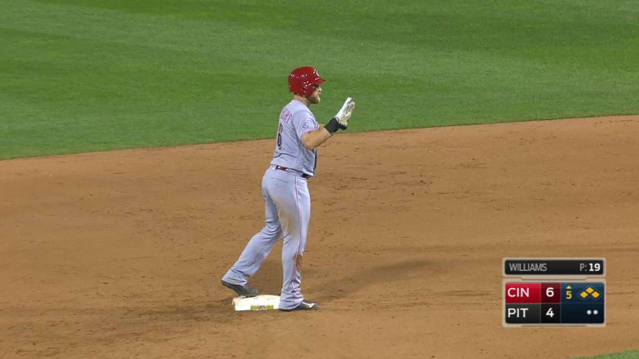 Barnhart's two-run double
