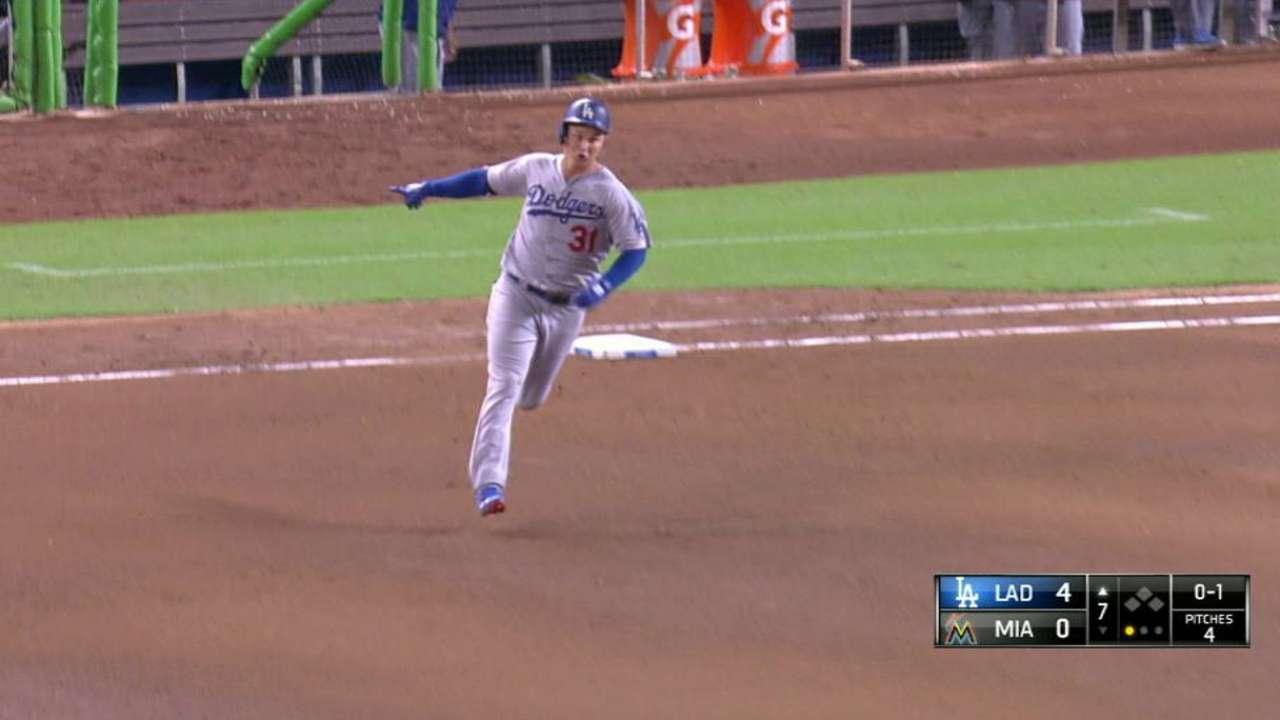 Pederson's second homer