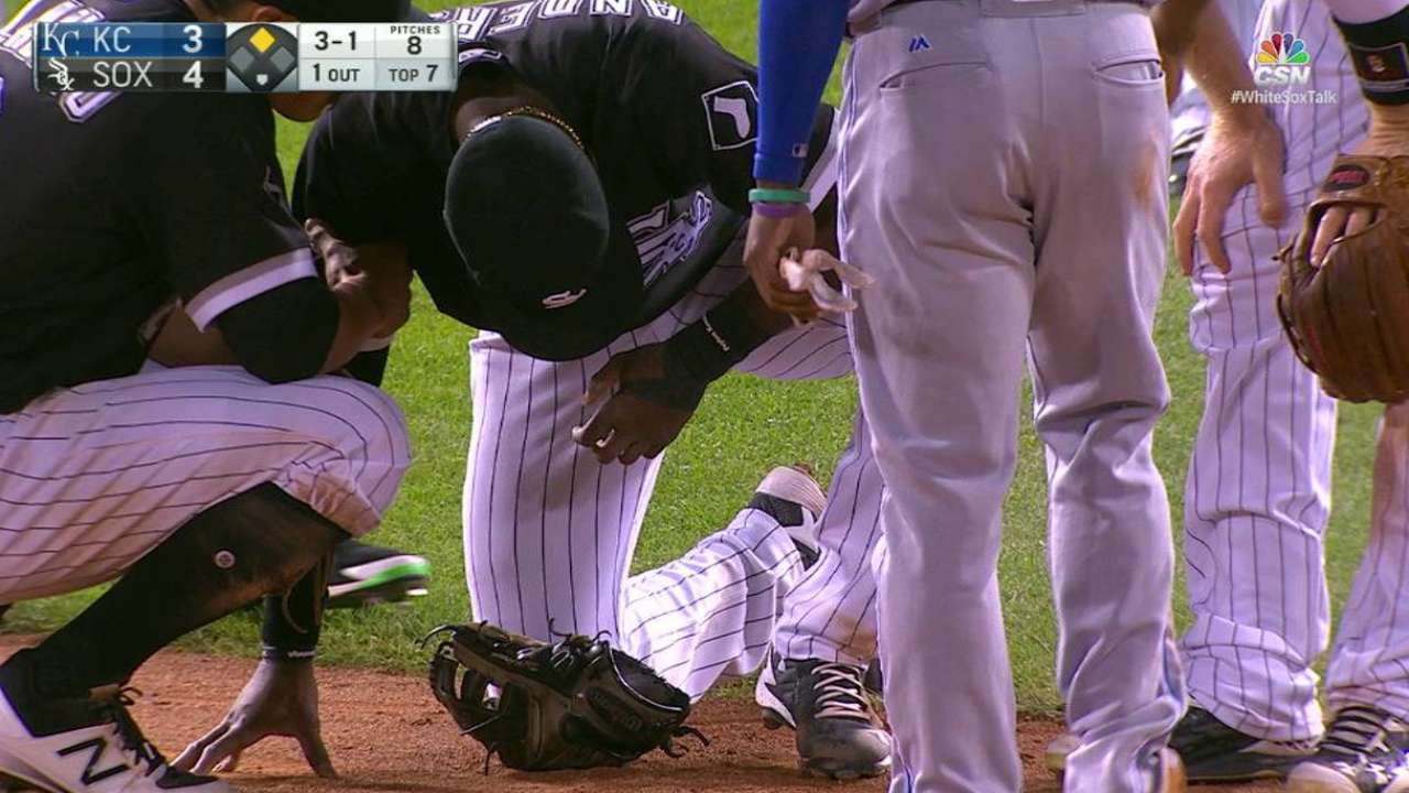 Anderson shaken up on Gore steal