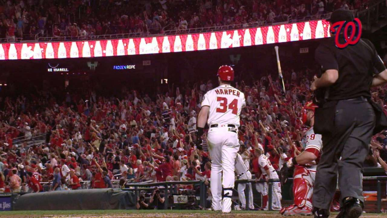 Harper's three-run home run
