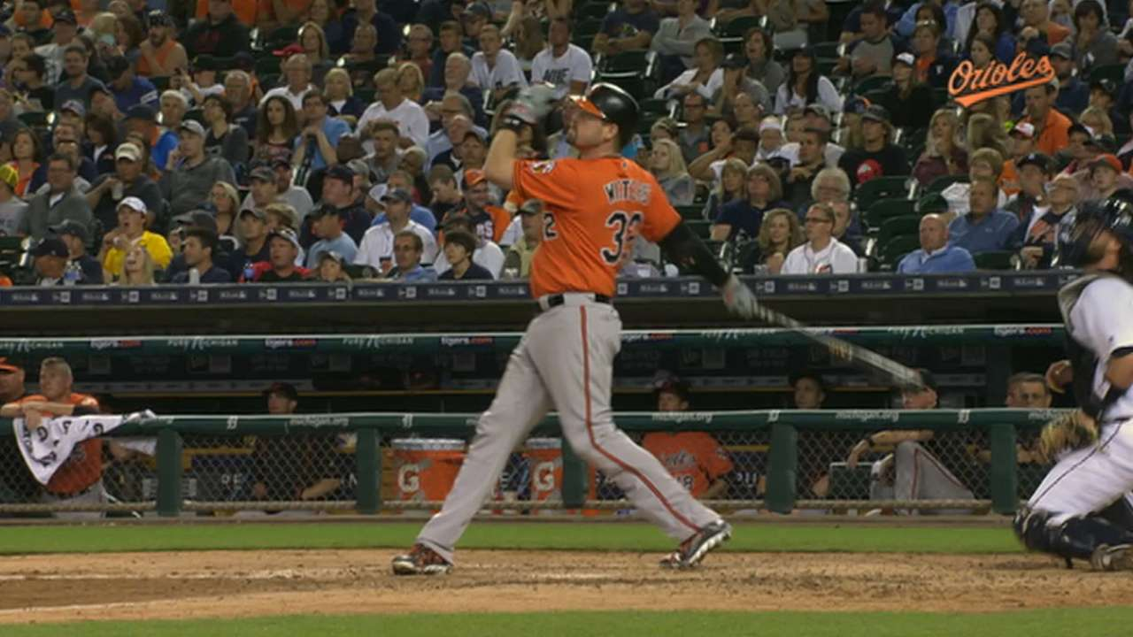 Wieters' two-homer game
