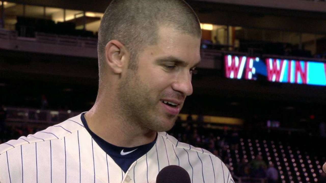Mauer discusses game-winning hit