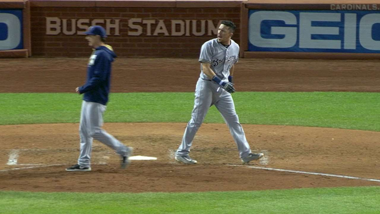 Perez ejected for arguing strike 3 in big spot
