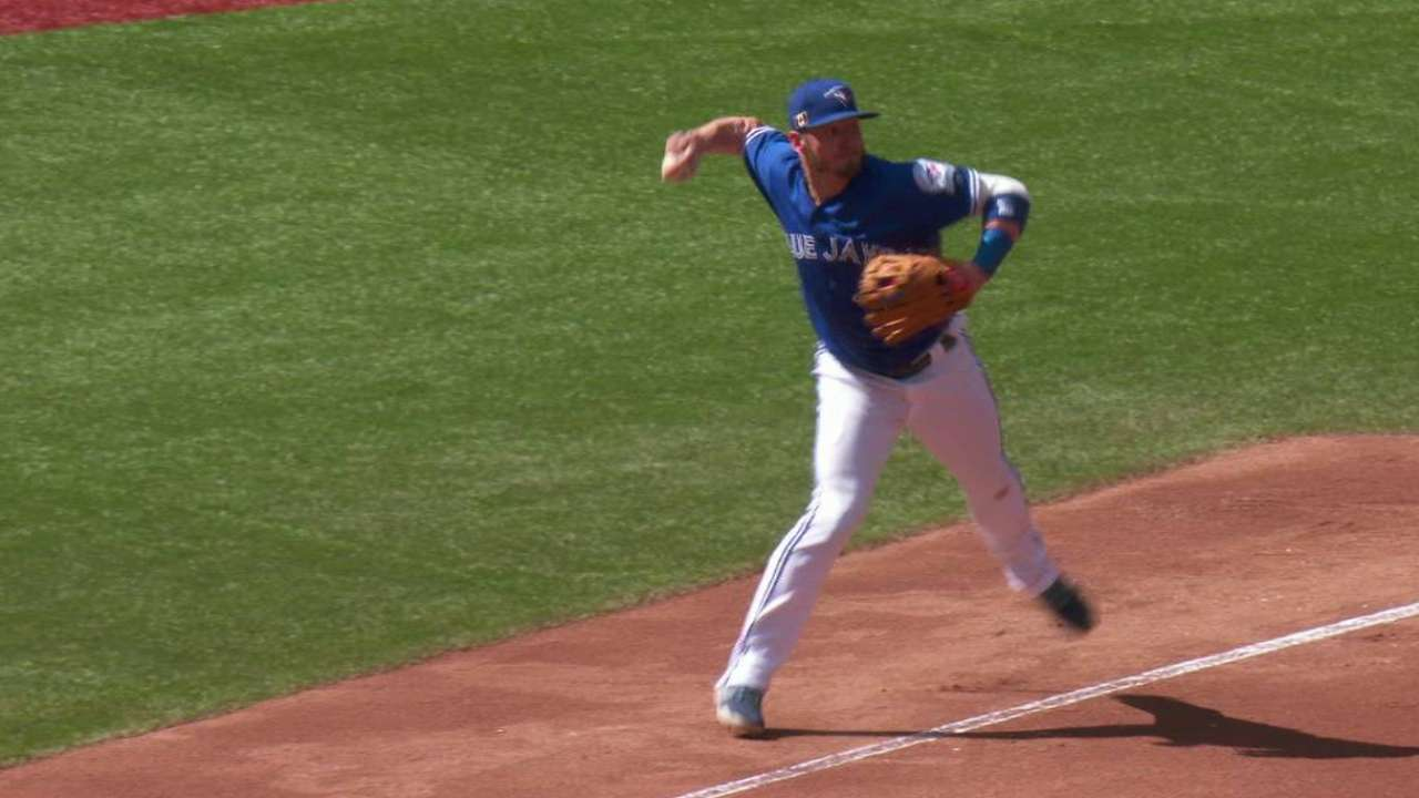 Donaldson out 1 game with undisclosed injury