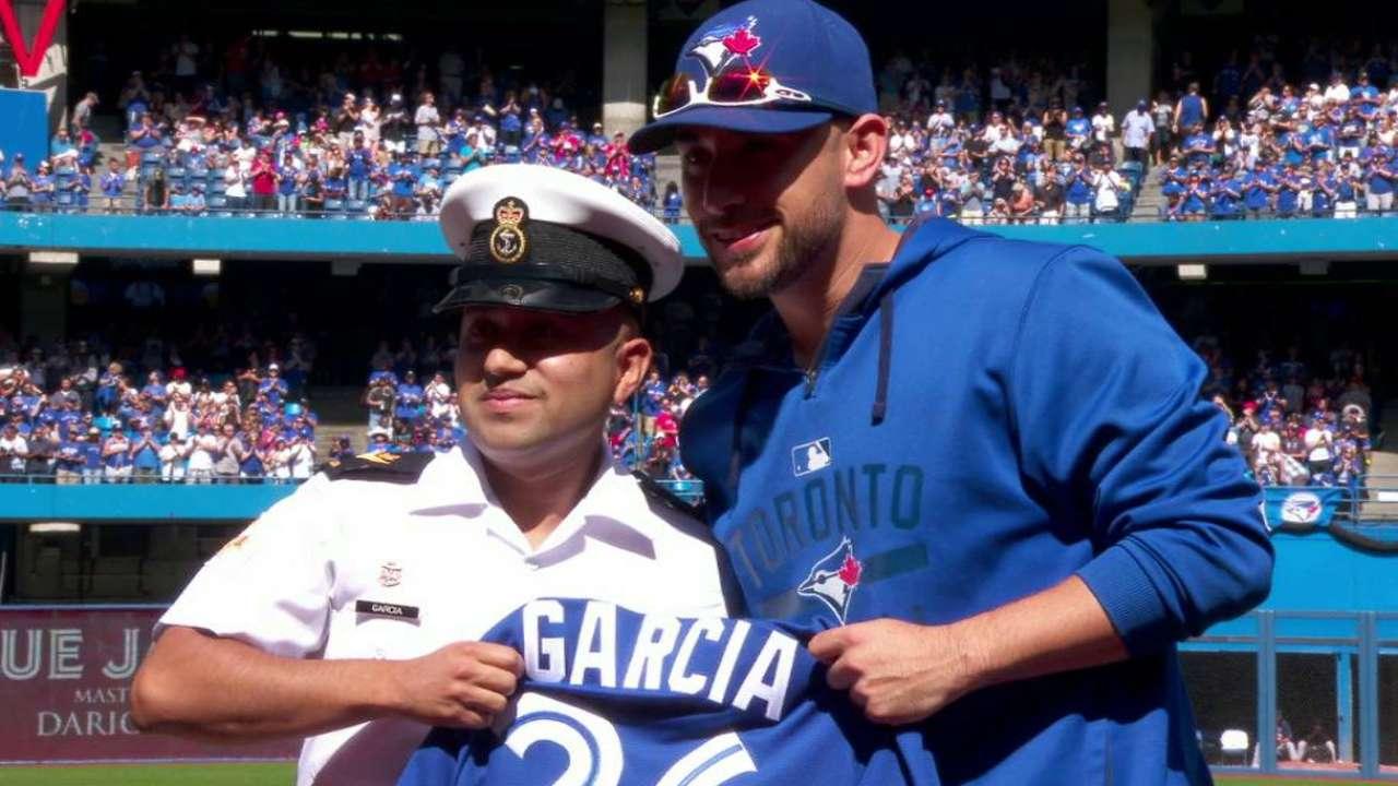Blue Jays salute Dario Garcia