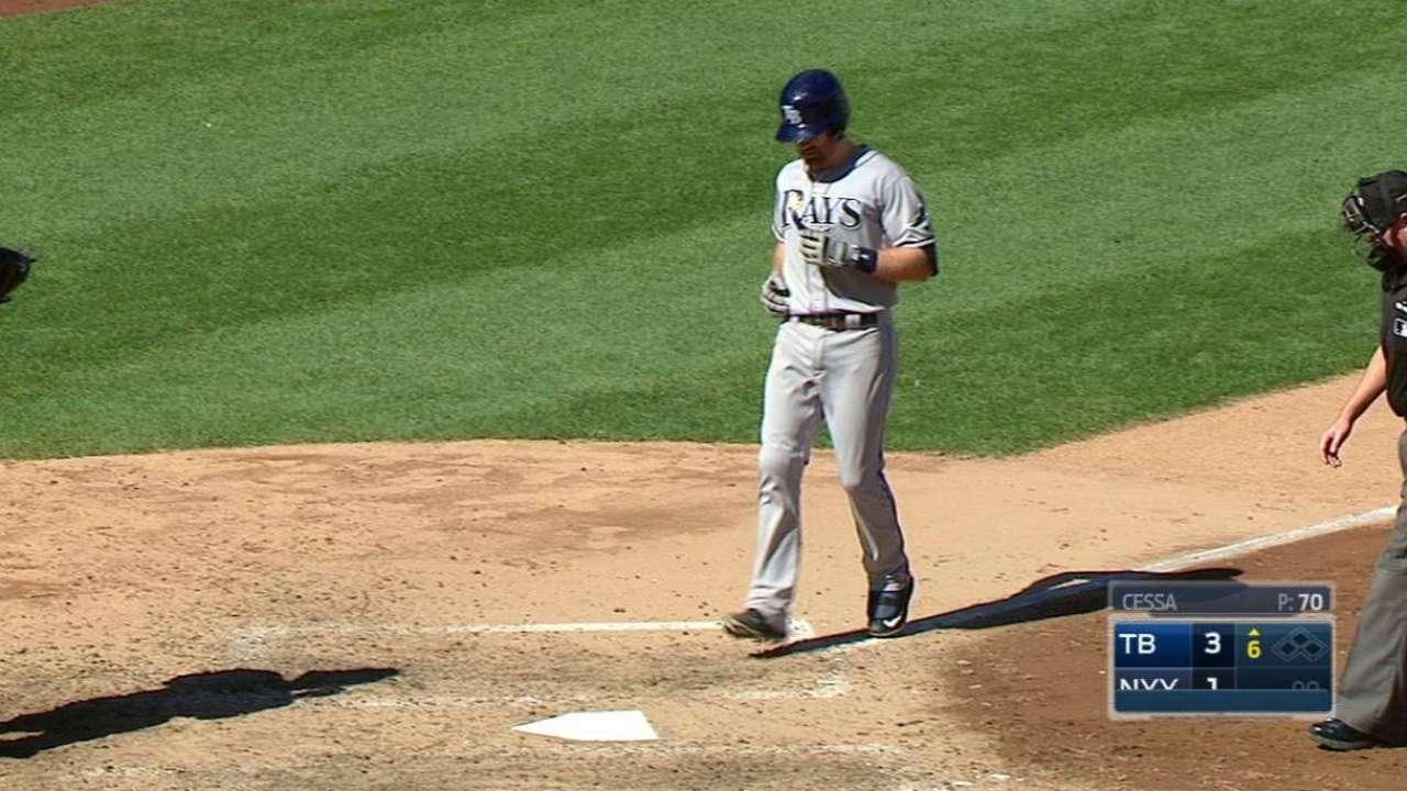 Rays frenaron escobas y buena racha de Yankees