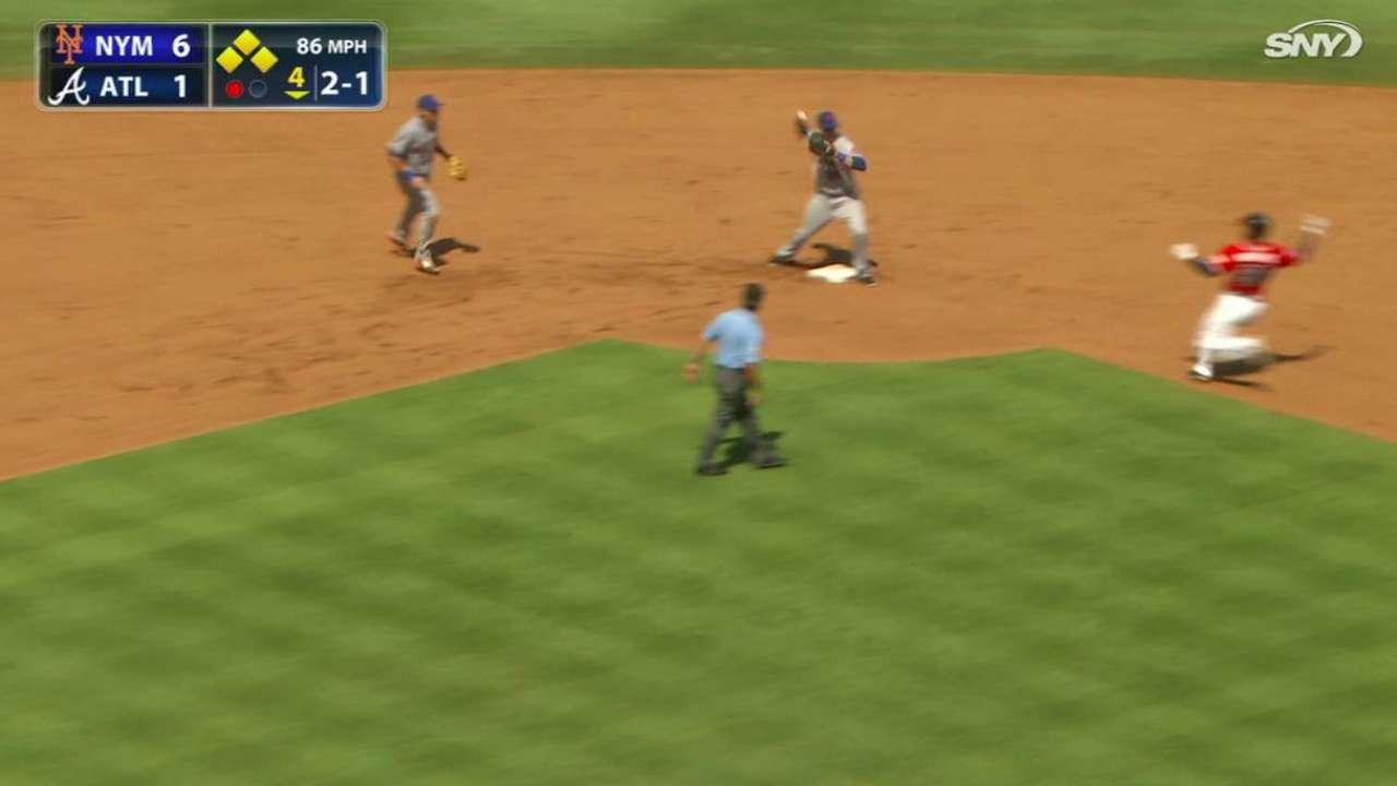 Cabrera starts key double play