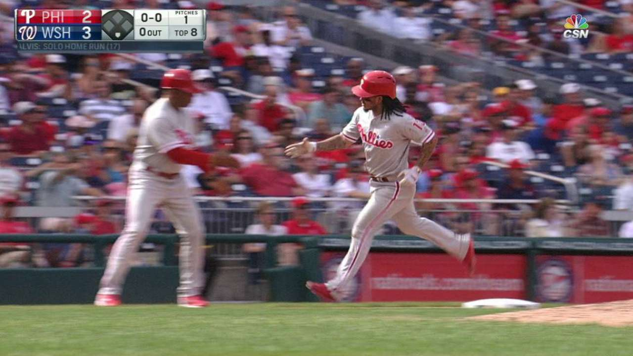 Galvis' solo home run