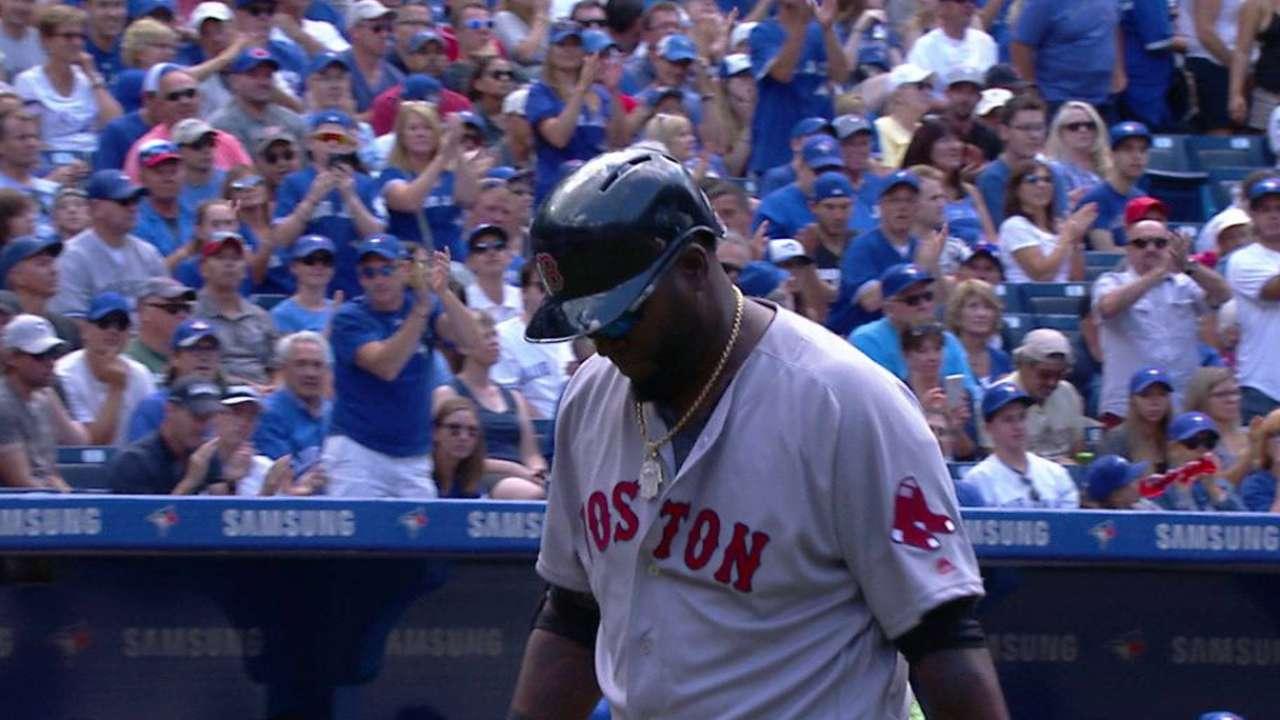 Ortiz's standing ovation