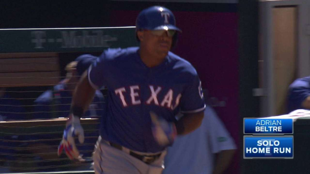 Beltre's second homer of game