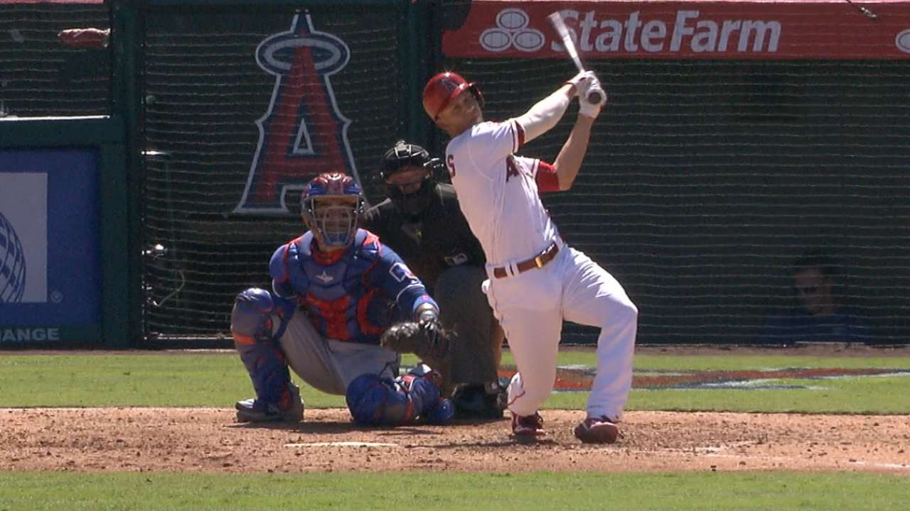 Angels outmuscle Rangers to deny sweep