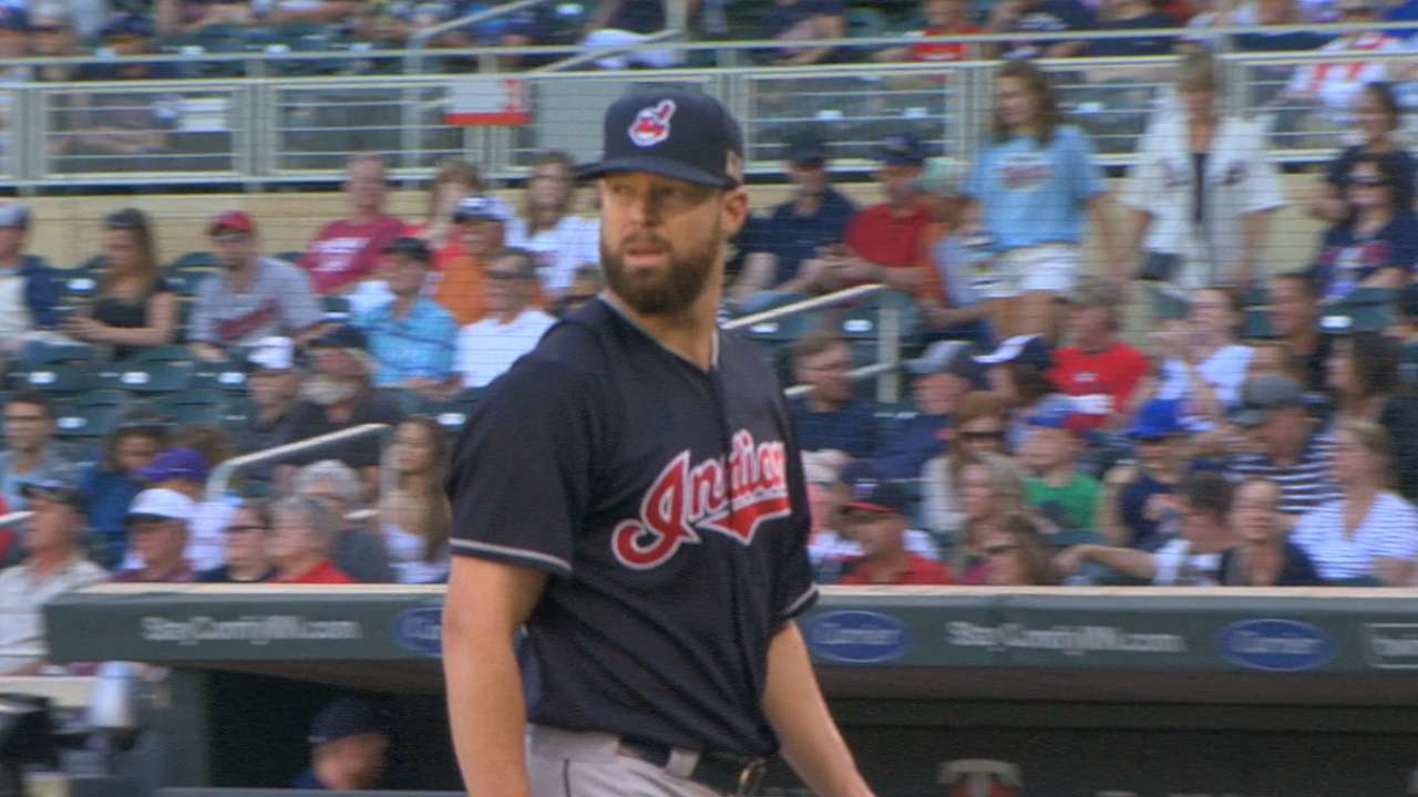Tribe tries to extend AL Central lead on MLB.TV