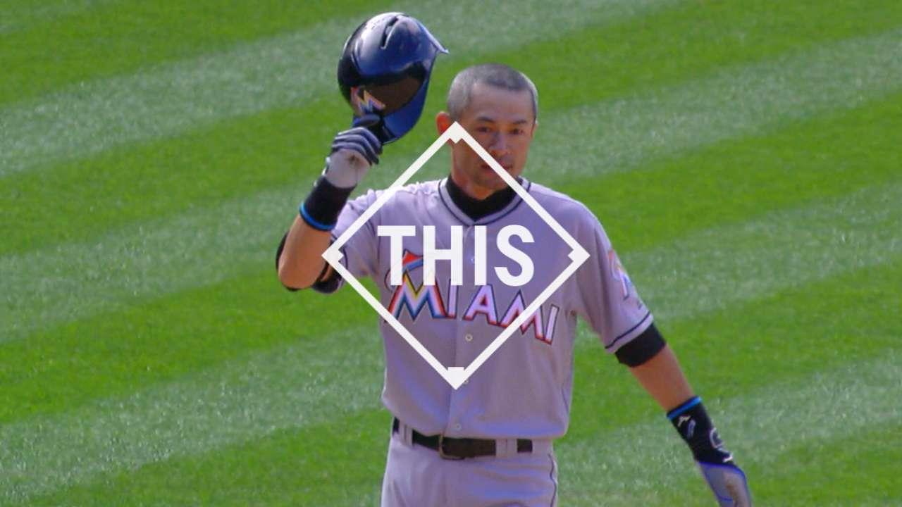 #THIS Ichiro's 3,000th hit