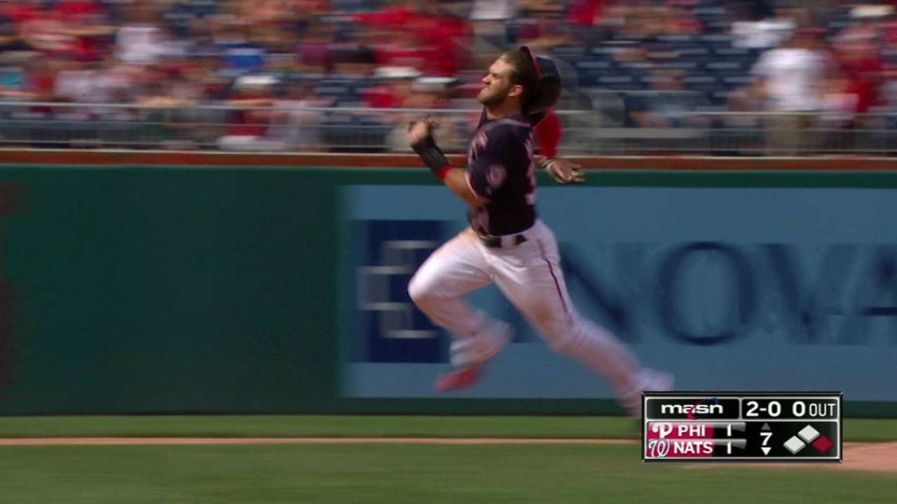 Rendon backs Gio at plate as Nats beat Phils