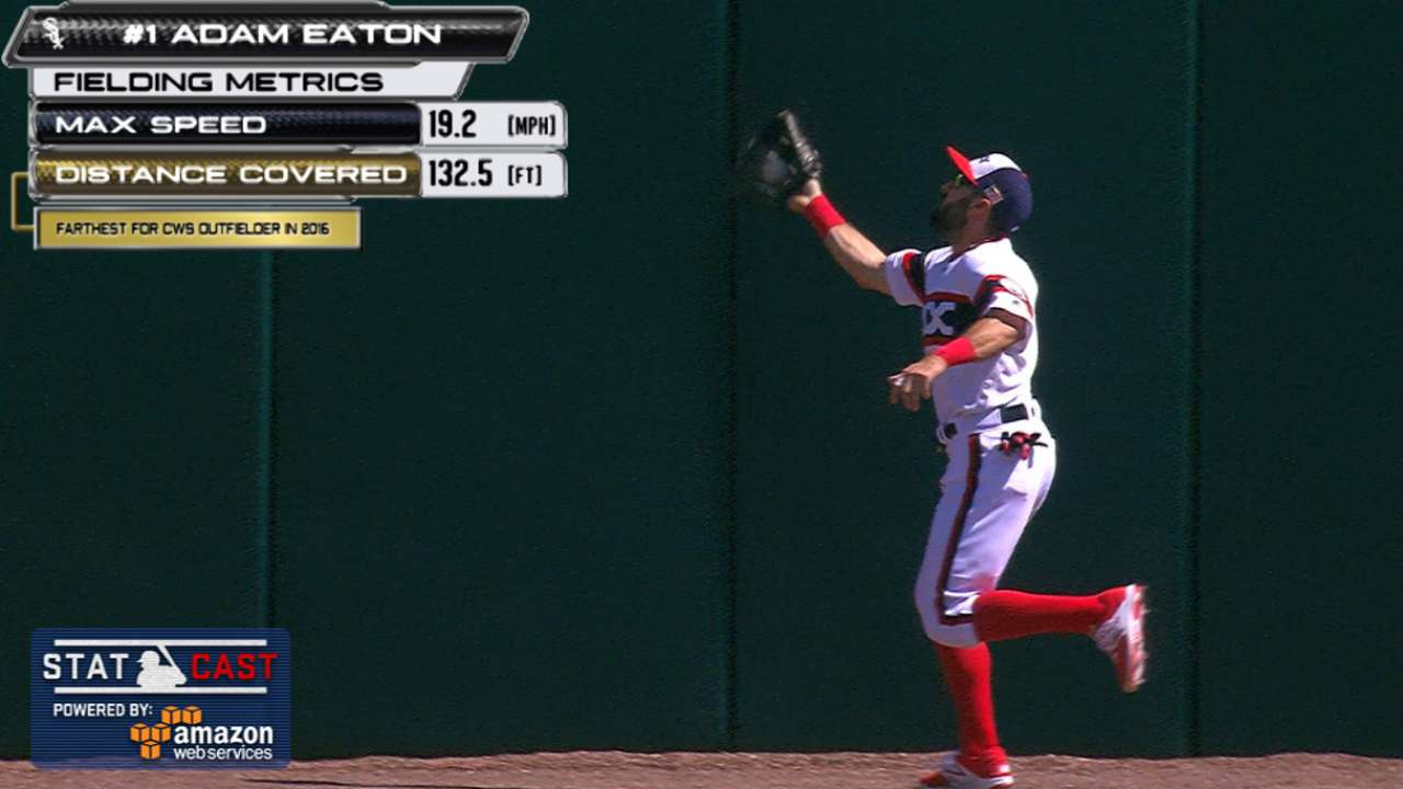 Statcast: Eaton's great catch