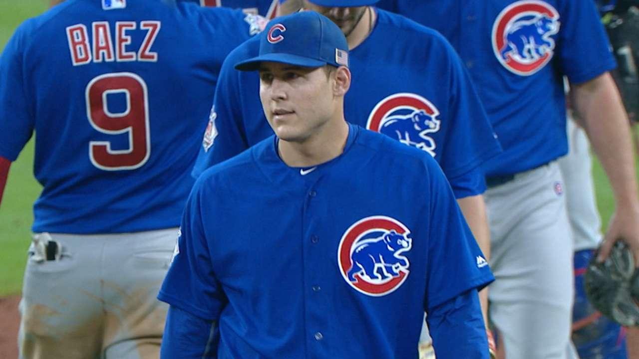 Cubs not looking beyond September yet