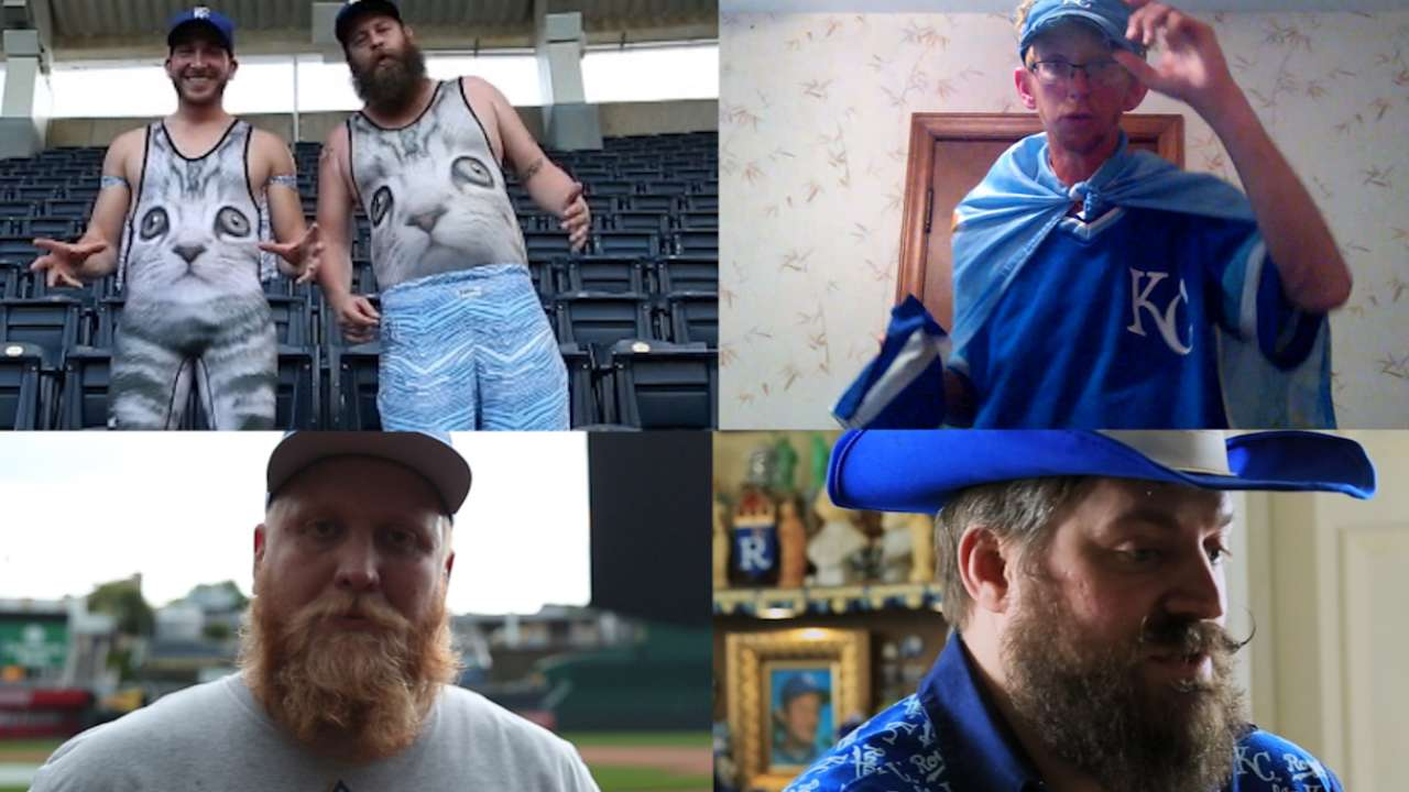 Cheer on: Vote for the Royals' top fan of 2016