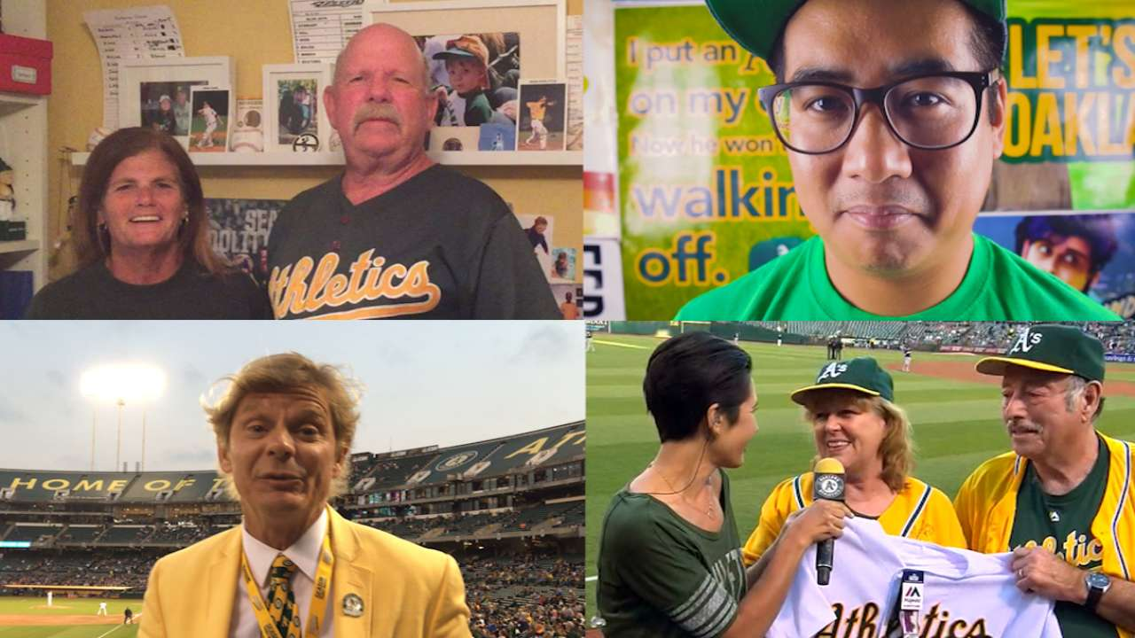 Cheer on: Vote for the A's top fan of 2016