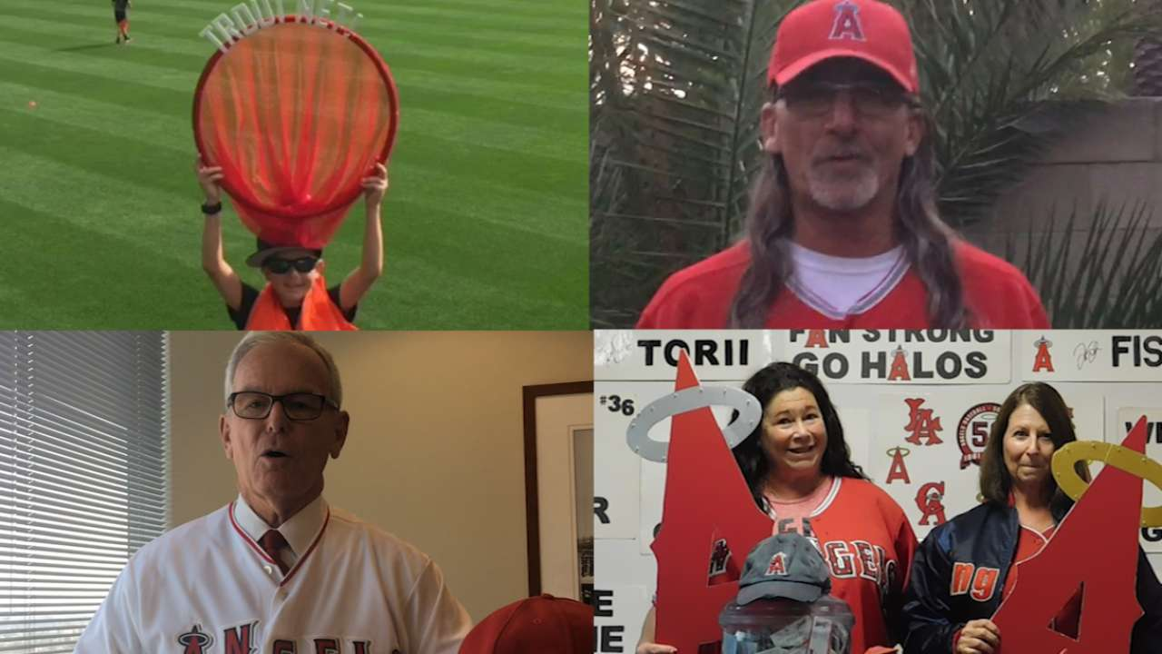 Cheer on: Vote for the Angels' top fan of 2016